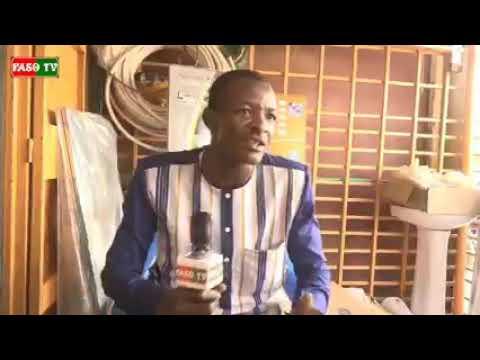 Frédéric Kaboré, de la maitrise en économie à la plomberie, il gagne sa vie dans ce métier.